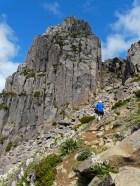Ossa ascent, summer