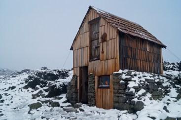 Kitchen hut, winter