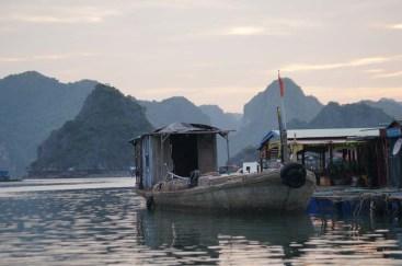 Concrete boat, Lan Ha Bay