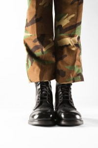 Soldier's Legs and Boots --- Image by © Royalty-Free/Corbis