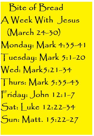 Bite of Bread March 24-30