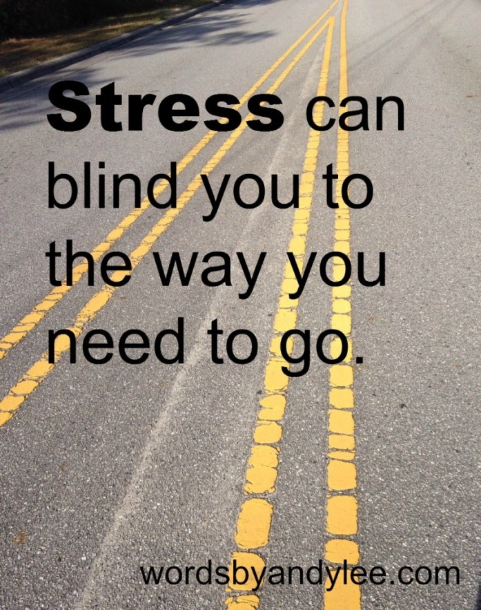 stress can blind