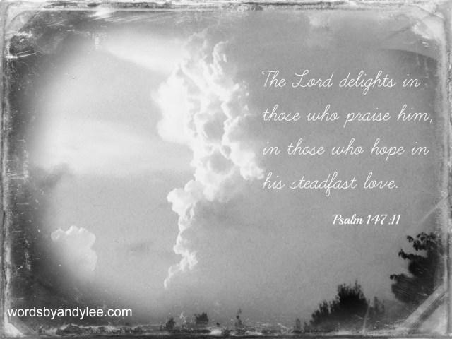 Psalm 147 cloud