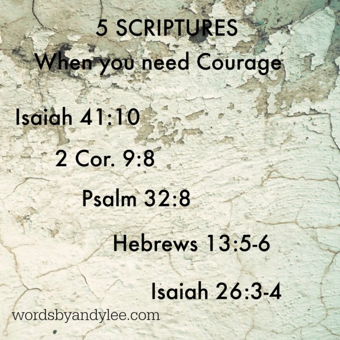 5 Scripture for Courage edit