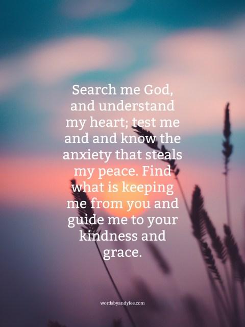 Psalm 139 Praye