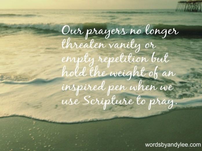 Our prayers edit