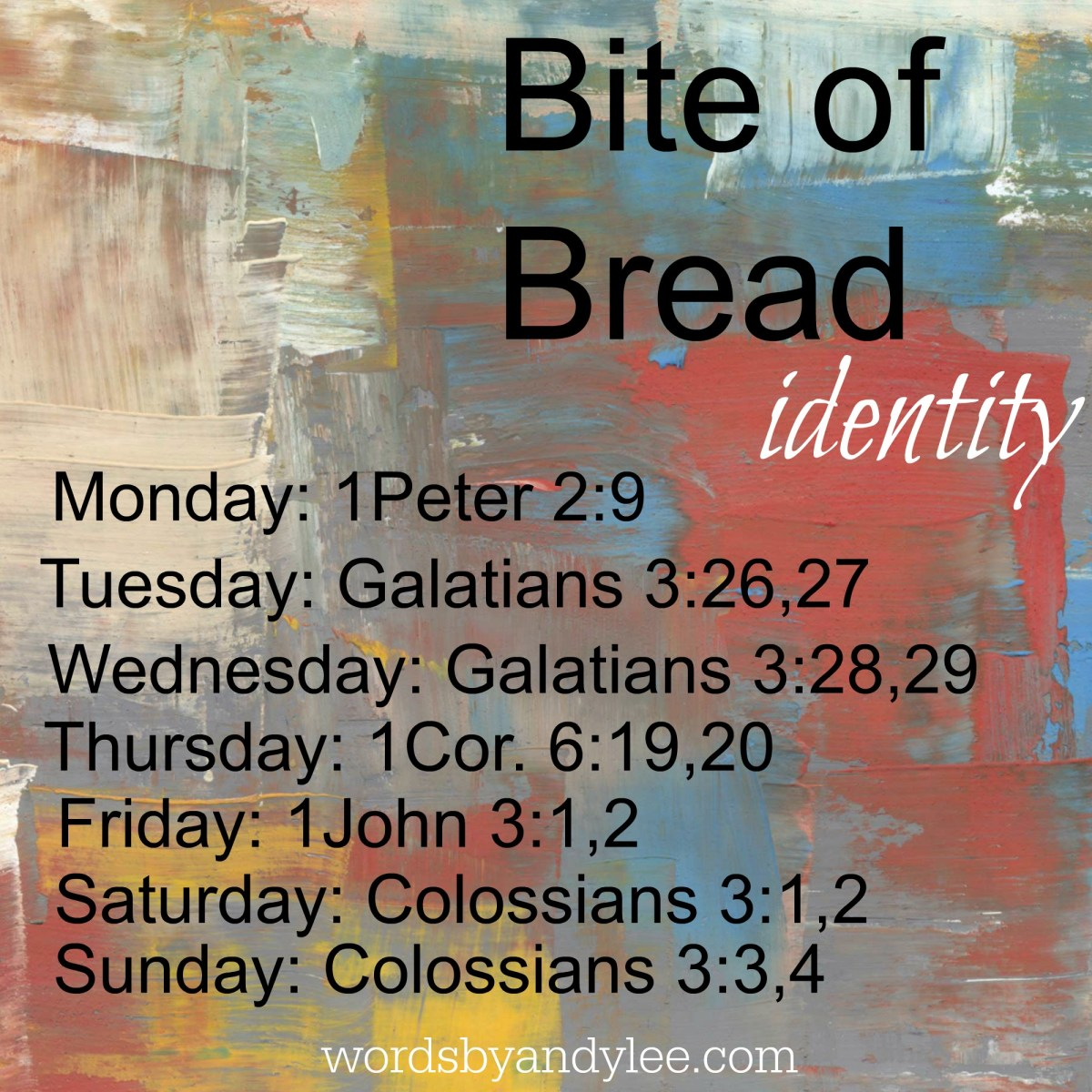 Bite of Bread: Identity, Finding Your True Self