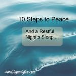10 Steps to Peace and a Restful Night's Sleep