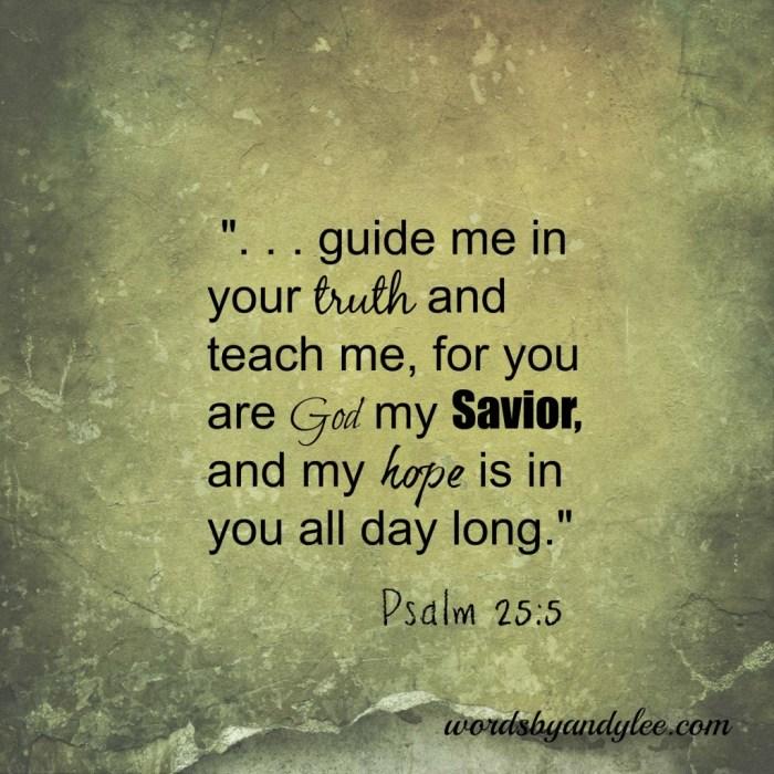 Psalm 25-5