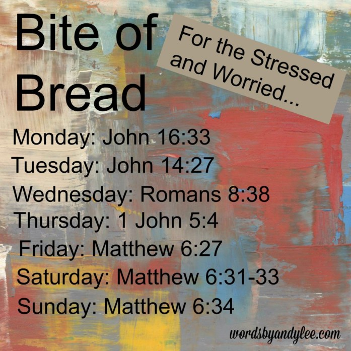 Bite of Bread for the stressed