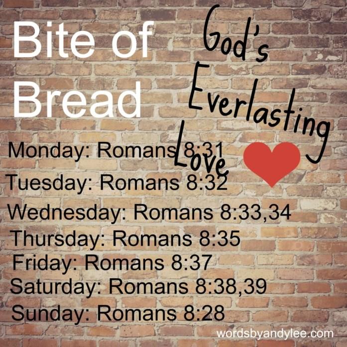Bite of Bread God's love