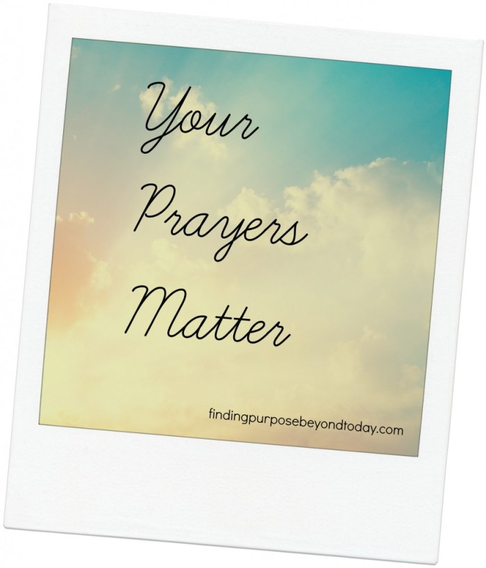 Your Prayer Matter