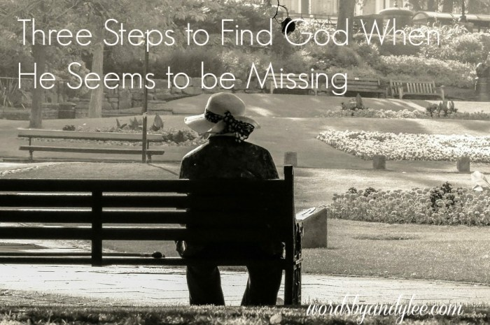 Three Steps to find God