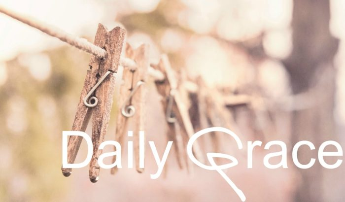 A Friday Giveaway of Grace