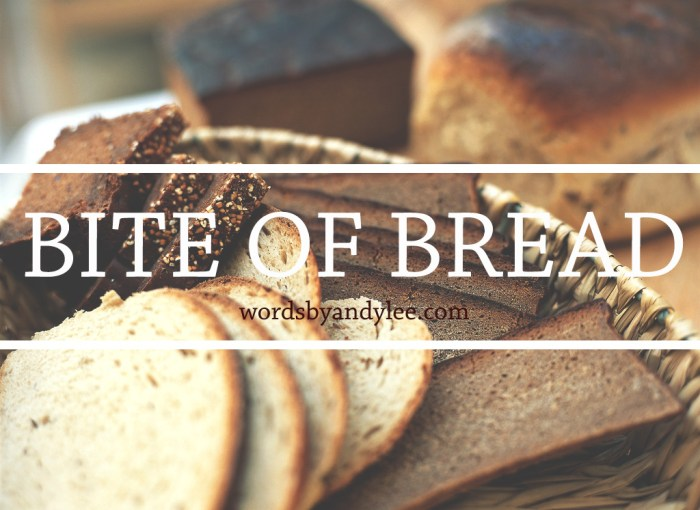 Bite of Bread: Bible Reading Plan on Trust