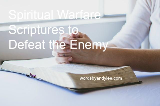 Spiritual Warfare Weapons [7 Scriptures]