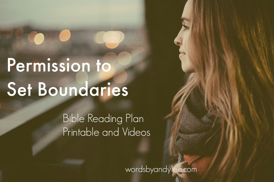 Permission to Set Boundaries