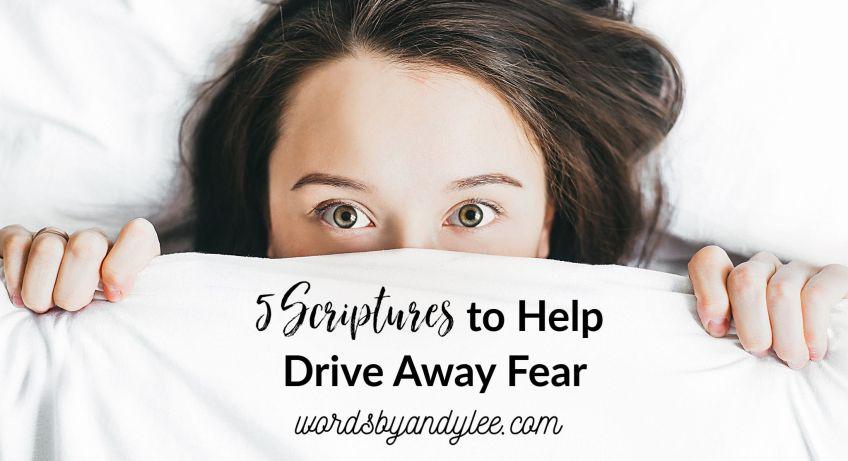scriptures about fear