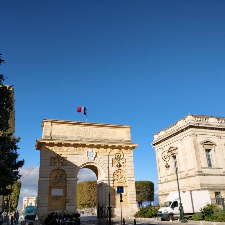 L'arc de triomphe, Montpellier