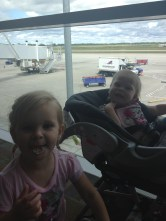 Angels at the airport