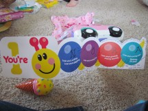 Cute card, Baby Einstein shoutout