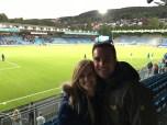 Soccer game in Drammen