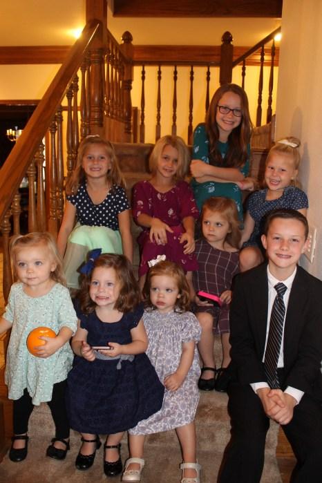 The grandkids!