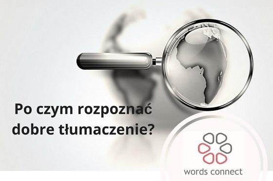 Po czym rozpoznać dobre tłumaczenie?