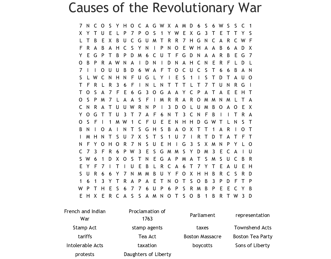 No Prep Us History Worksheet