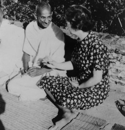 Margaret Sanger and Gandhi