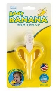 baby banana infant toothbrush