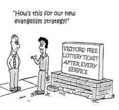Why evangelism doesn't work