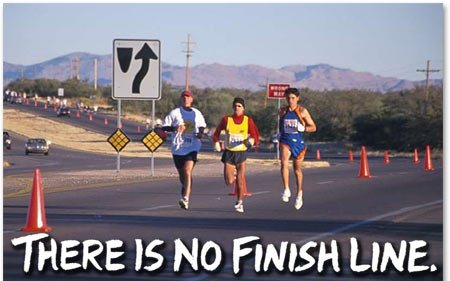 What's your finish line today? (1/4)