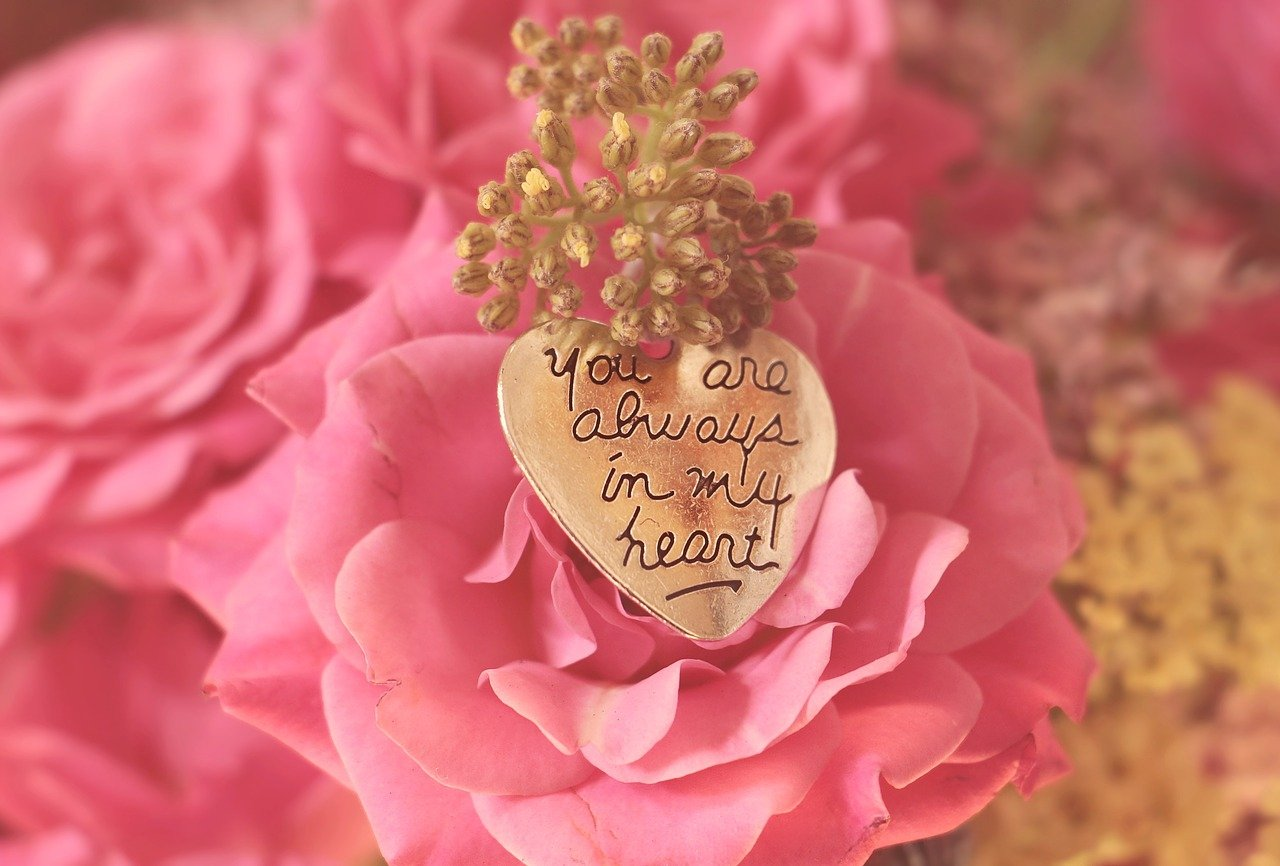 roses, heart, you are always in my heart