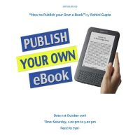 How to publish an ebook workshop
