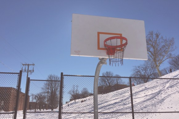 Basketball courts in Baltimore