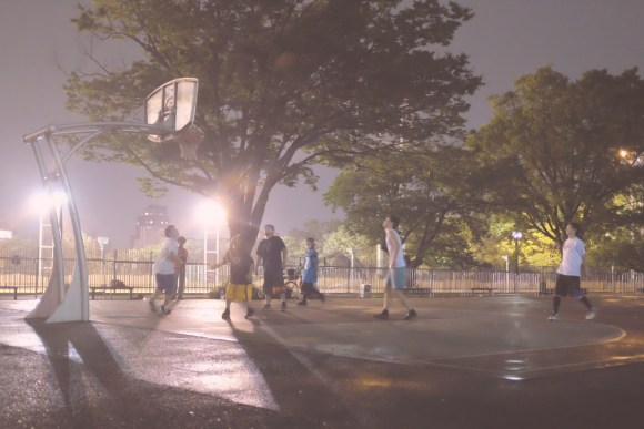 Basketball courts in Tokyo