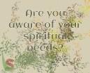 Spiritual needs