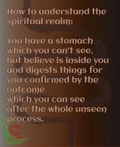 Spiritual realm