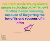 Modernising