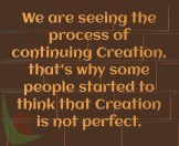 Process of Creation