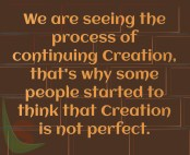 Process of Creation
