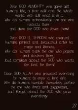 27 Dear GOD 4-2017
