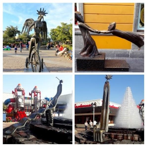 Sculptures in Guadajara