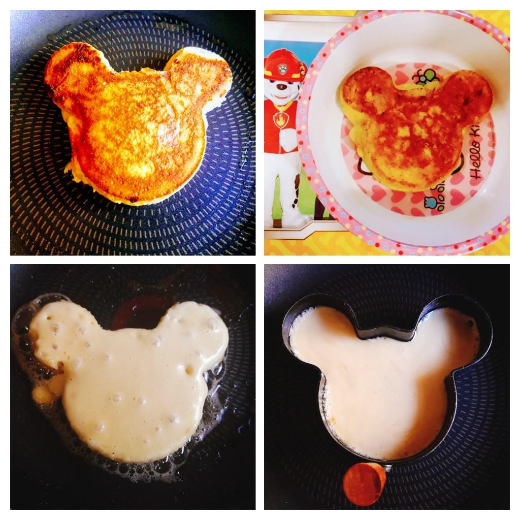 Teddy pancakes
