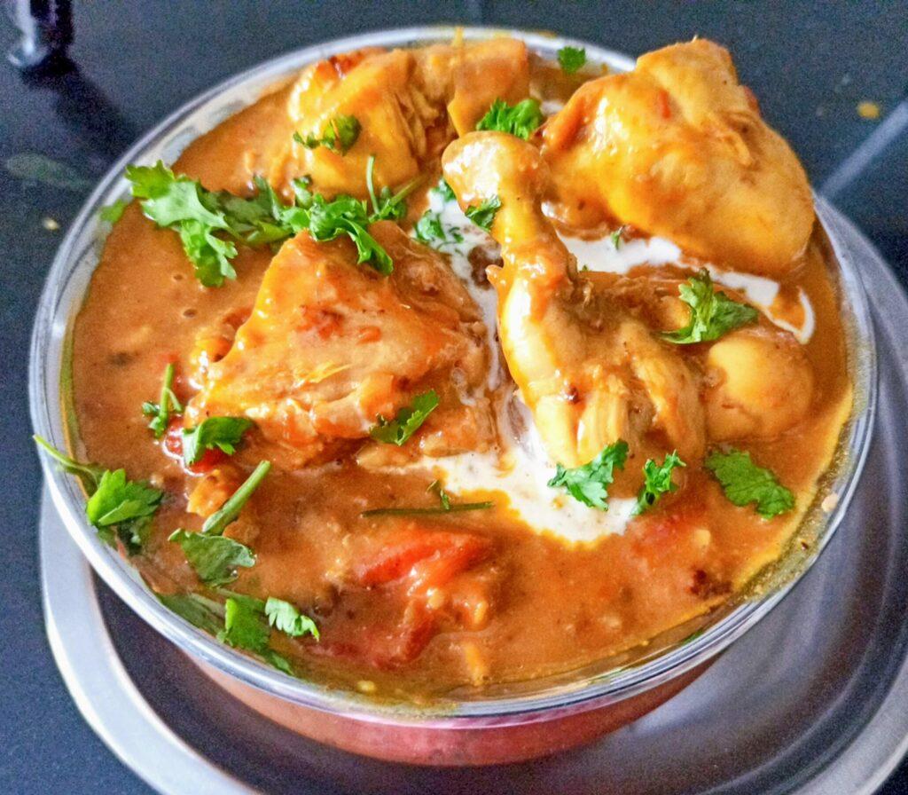 North Indian Chicken Curry | with a Twist | Wordsmith Kaur