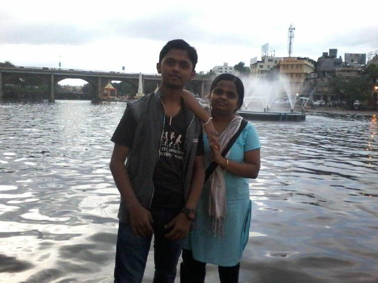 Photo with Nilima