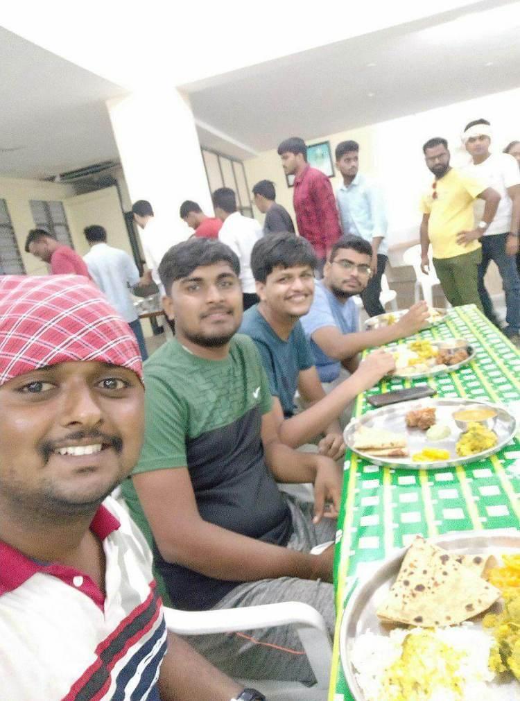 The Rajgad Trek lunch