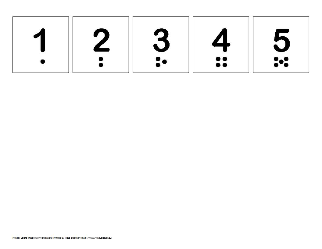 Free Printable Number Strip