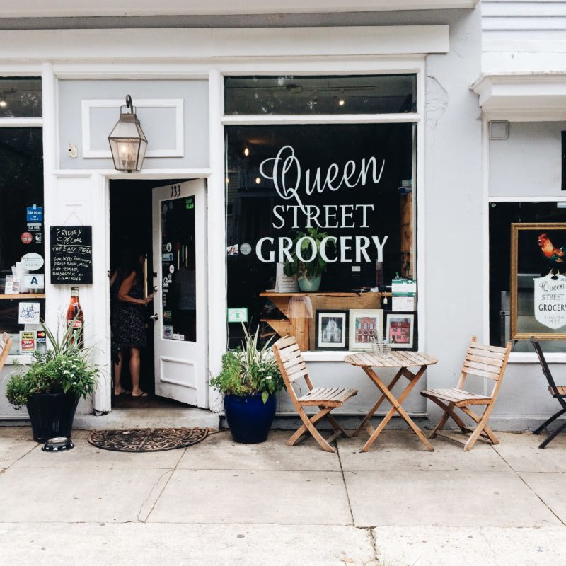 Green Street Grocery storefront